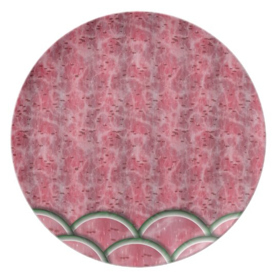 Watermelonmania Dinner Plate