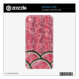 Watermelonmania Skins Para eliPhone 4S