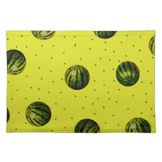 watermelons and seeds products cloth placemat