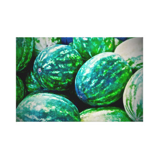 Watermelons ~ Canvas Art ~ Caribbean Fruit