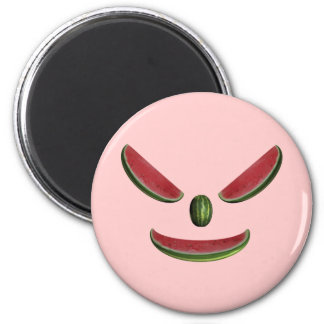 Watermelons Grin 2 Inch Round Magnet