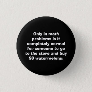 Watermelons Math Button