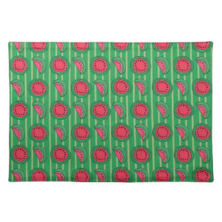 watermelons placemat