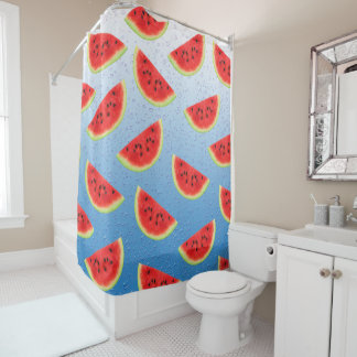 Watermelons Slices Shower Curtain