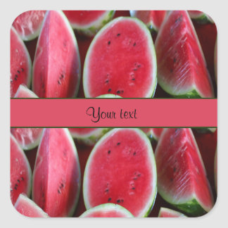 Watermelons Square Sticker