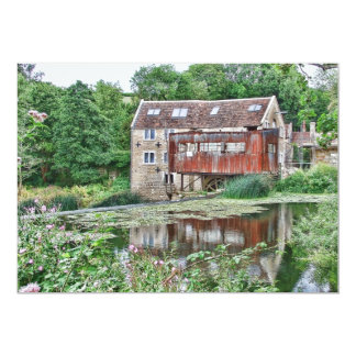 Watermill at Avoncliff Card