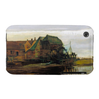 Watermill at Gennep by Vincent Van Gogh iPhone 3 Case-Mate Case