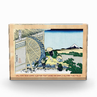 Watermill en la opinión de Onden Katsushika Hokusa