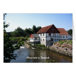 Watermill in Denmark Notecard Greeting Cards