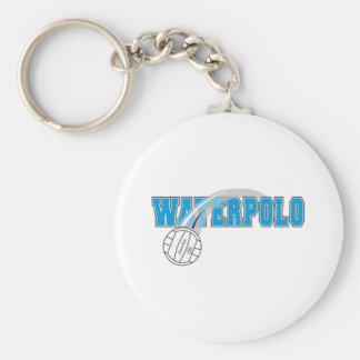 Waterpolo 2 llavero redondo tipo pin