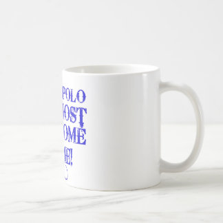 waterpolo el más impresionante taza básica blanca