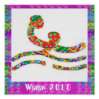 WaterPOLO - Hobby Exercise Sports Poster