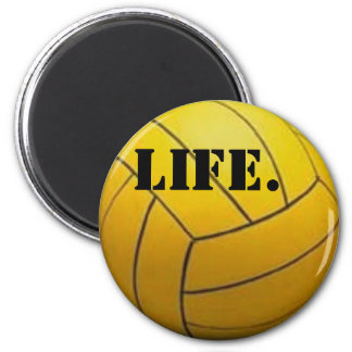 WaterPolo Is Life 2 Inch Round Magnet