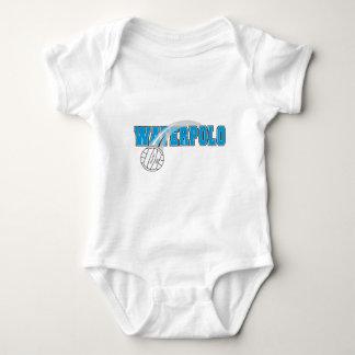 waterpolo logo baby bodysuit