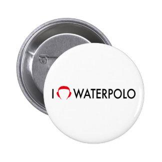 waterpolo pinback button