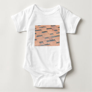 Waterproof fragment of a covering of a roof baby bodysuit