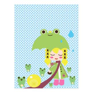 Waterproof Post Card