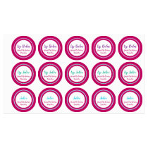 Waterproof Vinyl Product Crafter Cosmetic Labels