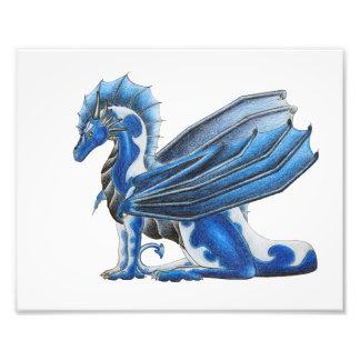 WaterRaven Dragon Photo Print