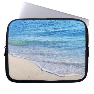 Water's edge 4 laptop sleeve
