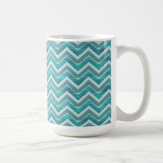 Waters Glitter Chevron Pattern Coffee Mug