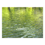 Waters of Oak Creek Yellow and Green Nature Photo