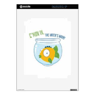 Waters Warm iPad 2 Skins