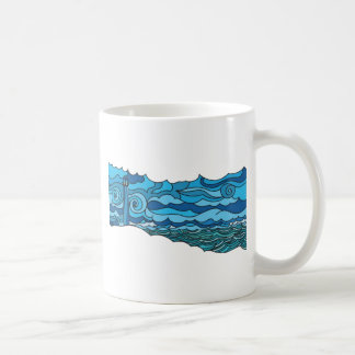Waterscape with lighthouse mug