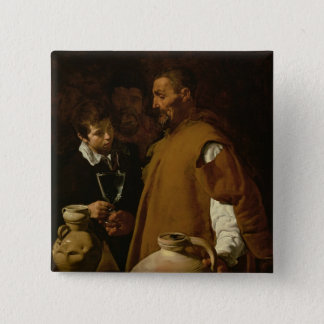 Waterseller of Seville, c.1620 Pinback Button
