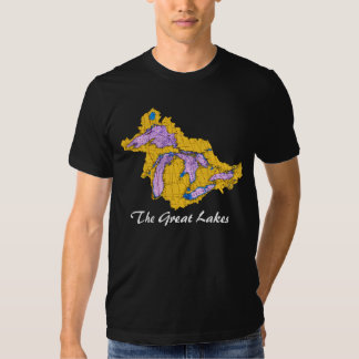 Watershead, The Great Lakes Tee Shirts