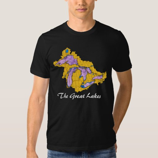 Watershead, The Great Lakes Tee Shirts