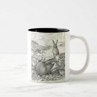 Watership Down Two-Tone Coffee Mug