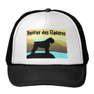 Waterside Bouvier des Flandres Trucker Hat