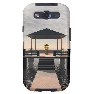 Waterside Gazebo Galaxy S3 Cases