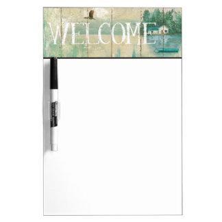 Waterside Lodge Dry-Erase Board