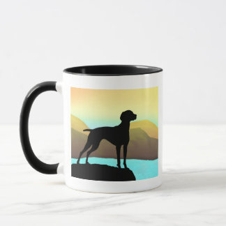 Waterside Vizsla t-shirts, apparel & gift Mug