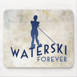 Waterski Forever Mouse Pad