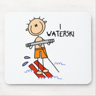 Waterski Gift Mouse Pad