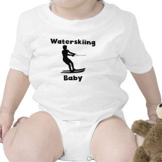 Waterskiing Baby Baby Creeper