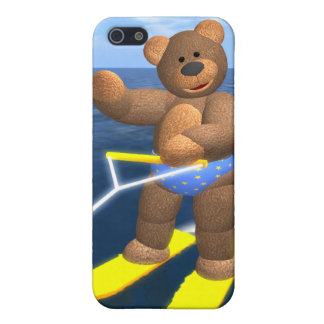 Waterskiing Dinky Bear Cover For iPhone 5