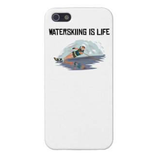 Waterskiing Is Life iPhone 5/5S Case