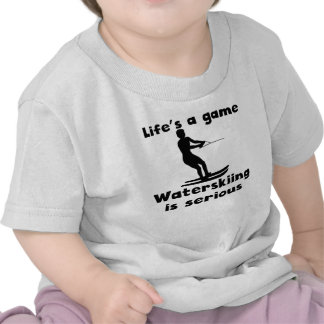 Waterskiing Is Serious T Shirt