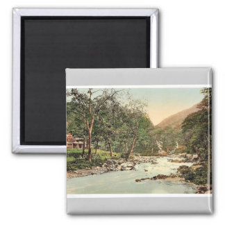 Watersmeet and refreshment house, Lynton and Lynmo Refrigerator Magnet