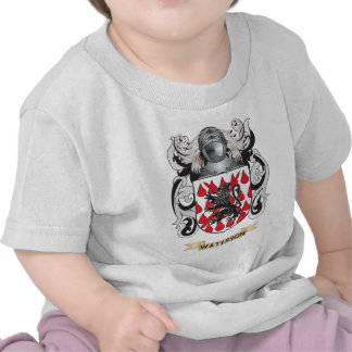 Waterson Family Crest (Coat of Arms) Tee Shirts