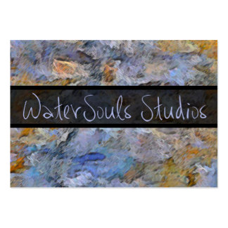 WaterSouls Studios August 6, 2011 Large Business Cards (Pack Of 100)