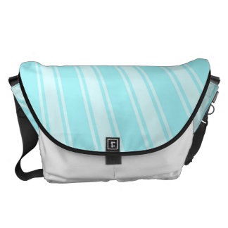 Waterspout Color Stripe Funky Pattern Messenger Bag