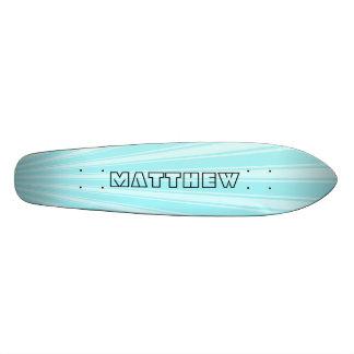 Waterspout Color Stripe Funky Pattern Skateboard