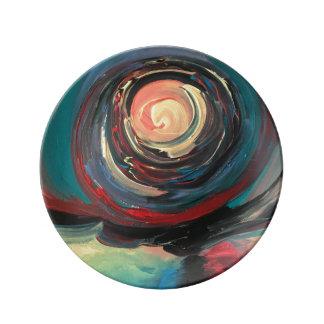 Waterspout Porcelain Plate