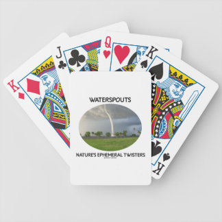 Waterspouts Nature's Ephemeral Twisters Deck Of Cards