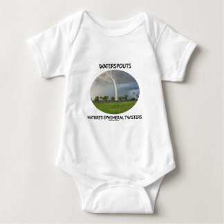 Waterspouts Nature's Ephemeral Twisters T Shirts